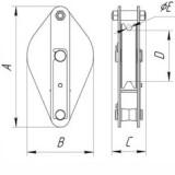 Схема блока с закрытым люком