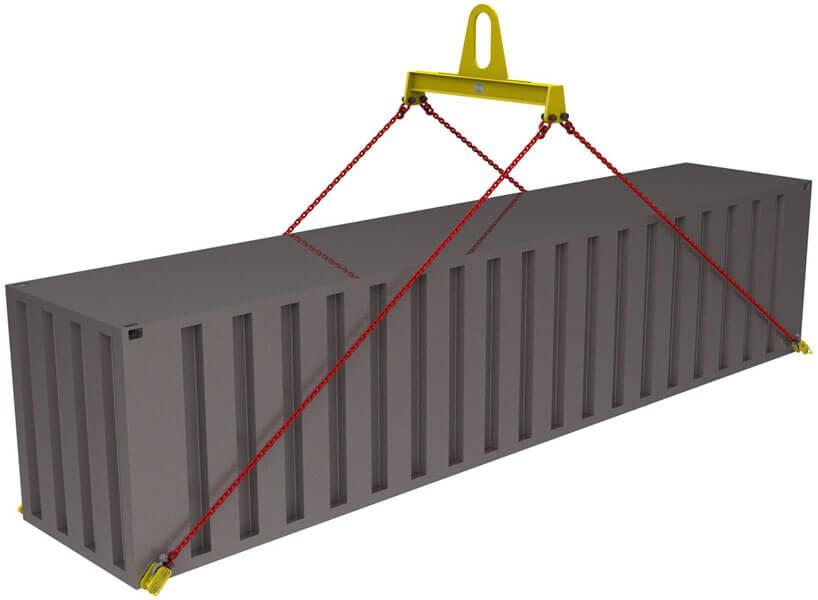 Траверсы для контейнеров ТрК10 купить в Перми. Товар в наличии, доставка по России