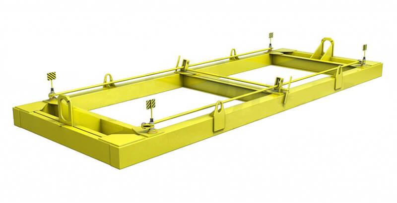 Траверсы ТрК4 (для подъема контейнера двумя кранами) купить в Перми. Товар в наличии, доставка по России