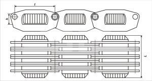 Продажа цепи приводной вариаторной пластинчатой по недорогой цене, доставка по России