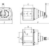 Схема ручной лебедки JHW