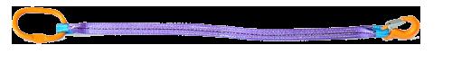 Стропы 1СТ одноветвевой текстильные, ленточные для захвата и подъема грузова