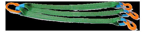 Стропы 3СТ Трехветвевой текстильные, ленточные для захвата и подъема грузова
