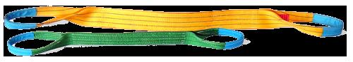 Стропы текстильные, ленточные для захвата и подъема грузова