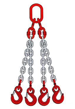 четырехветвевые (цепной паук) стропы купить по выгодной цене. Товар всегда в наличии