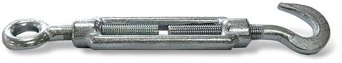 Талреп открытый DIN 1480 крюк-петля купить в Перми. Товар в наличии, доставка по России