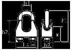 Схема винтового зажима DIN 1142